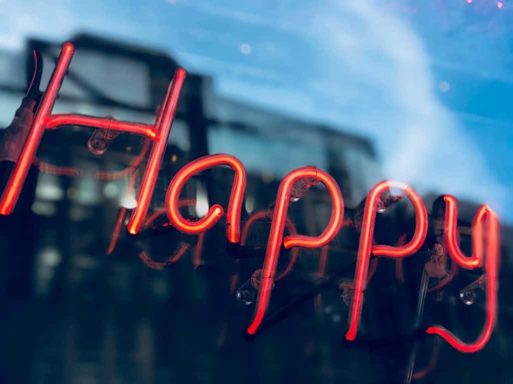Hạnh phúc là biết đủ