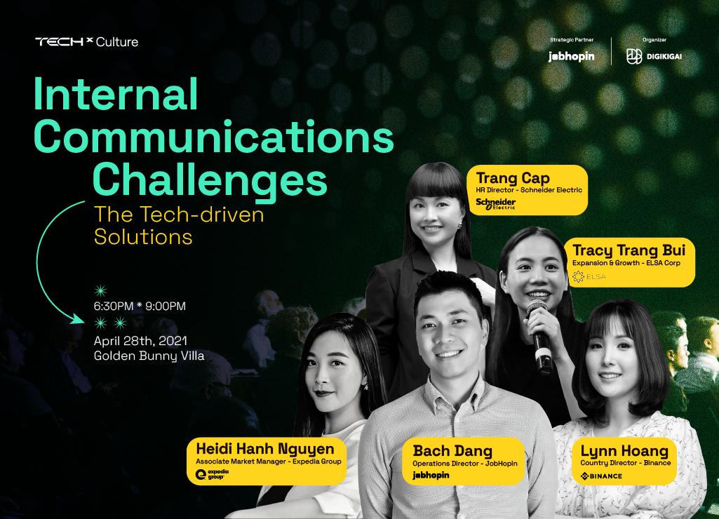Chiến lược truyền thông nội bộ: Bứt phá rào cản giao tiếp trong doanh nghiệp 4.0