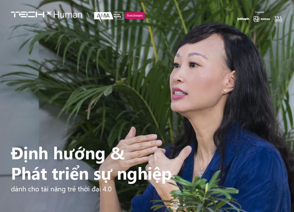 """Chị Thái Vân Linh nói gì về câu chuyện """"Định hướng và phát triển sự nghiệp dành cho tài năng trẻ thời đại 4.0""""?"""