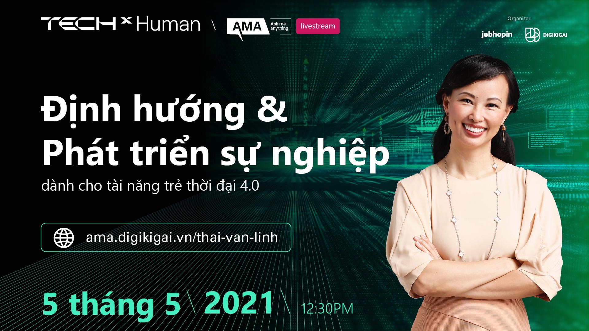 Khai số AMA đầu tiên của JobHopin và chị Thái Vân Linh