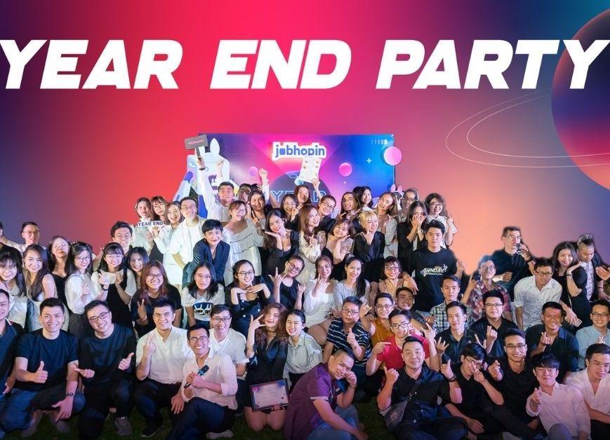 """""""Xập xình"""" Year End Party (YEP) 2020 cùng gia đình JobHopin!"""